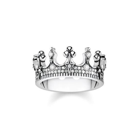 Ring crown silver from the  collection in the THOMAS SABO online store