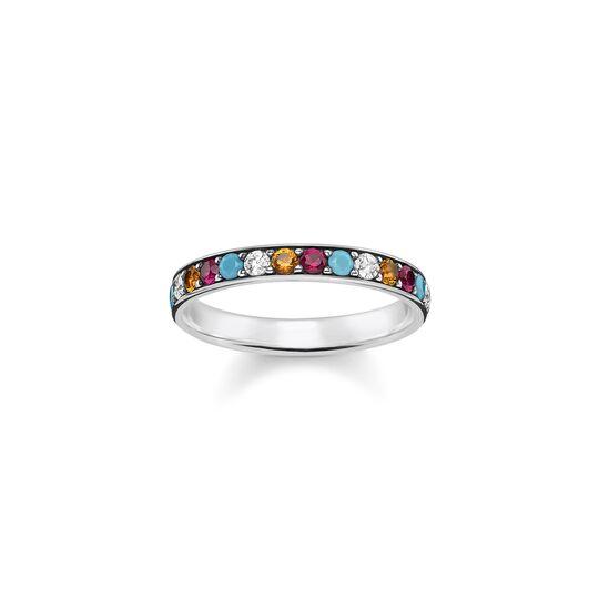 Ring farbige Steine aus der  Kollektion im Online Shop von THOMAS SABO