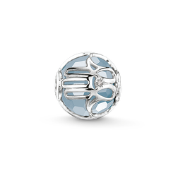 Bead main de Fatima bleu clair de la collection Karma Beads dans la boutique en ligne de THOMAS SABO