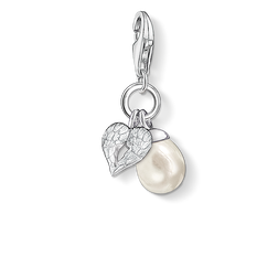 Charm pendant wing with pearl from the Charm Club Collection collection in the THOMAS SABO online store