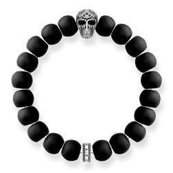 "bracelet ""Power Bracelet Maori Skull"" from the Rebel at heart collection in the THOMAS SABO online store"