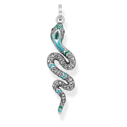"pendant ""snake"" from the Glam & Soul collection in the THOMAS SABO online store"