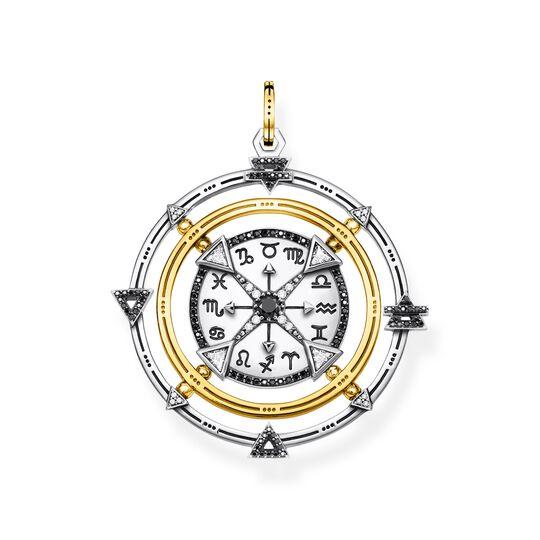 Anhänger Amulett Elements of Nature schwarz-gold aus der  Kollektion im Online Shop von THOMAS SABO