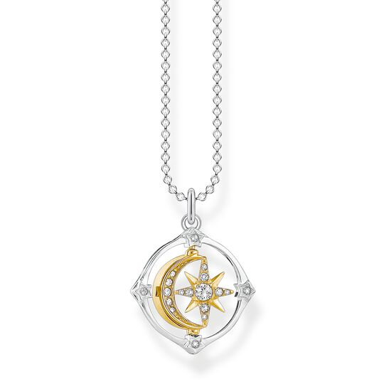 necklace Moveable moon & star from the  collection in the THOMAS SABO online store