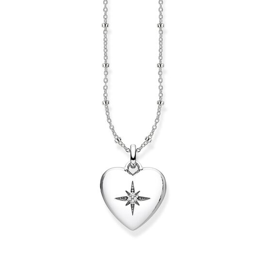 TS Silver Heart Locket