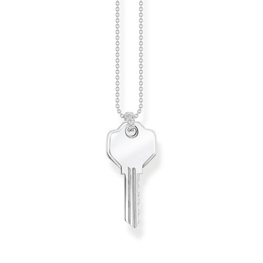 Necklace keys silver from the  collection in the THOMAS SABO online store
