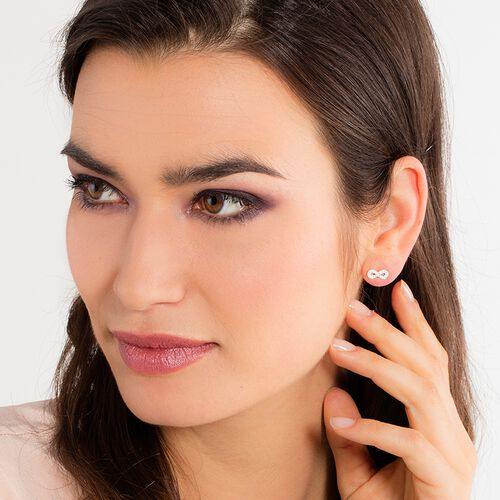 """ear studs """"infinity"""" from the Glam & Soul collection in the THOMAS SABO online store"""