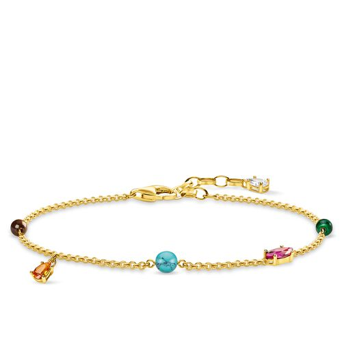 "bracelet ""Colourful Stones"" from the Glam & Soul collection in the THOMAS SABO online store"