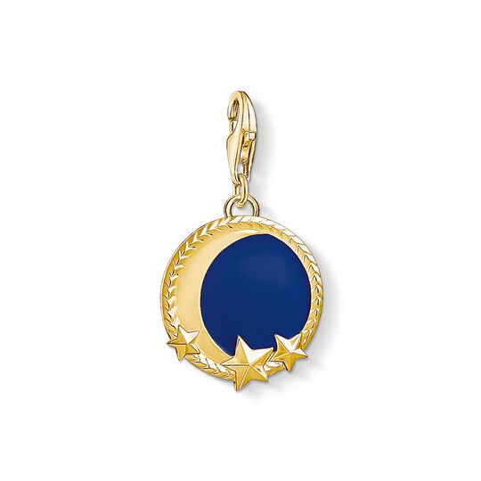 Charm pendant moon from the Charm Club collection in the THOMAS SABO online store
