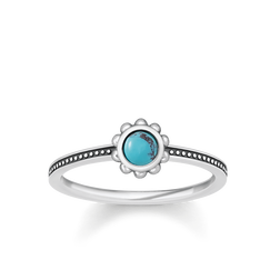 """ring """"ethno turquoise"""" from the Glam & Soul collection in the THOMAS SABO online store"""