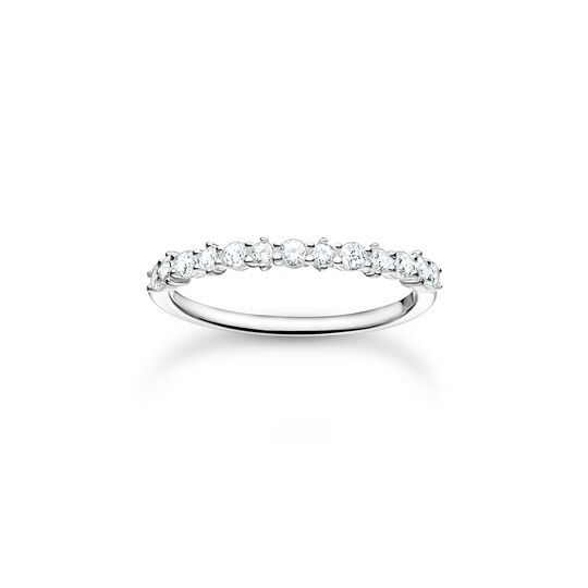 Ring white stones from the Charming Collection collection in the THOMAS SABO online store
