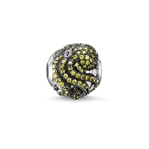 """Bead """"green octopus"""" from the Karma Beads collection in the THOMAS SABO online store"""