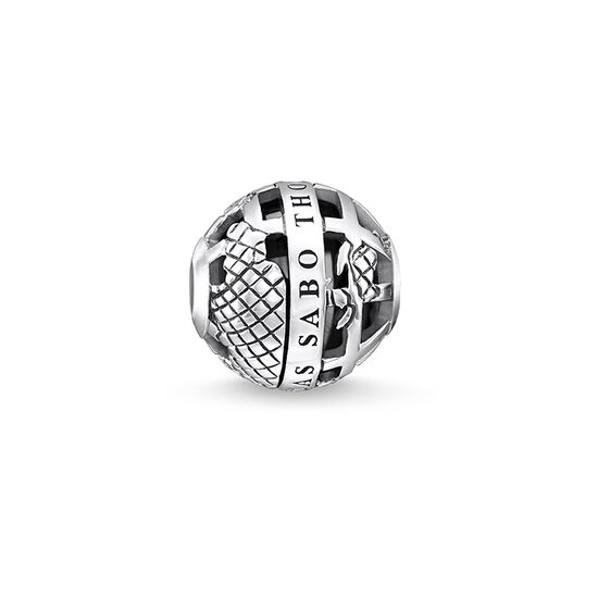 "Bead ""Black globe"" from the Karma Beads collection in the THOMAS SABO online store"
