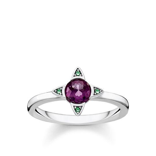Ring Farbige Steine silber aus der Glam & Soul Kollektion im Online Shop von THOMAS SABO