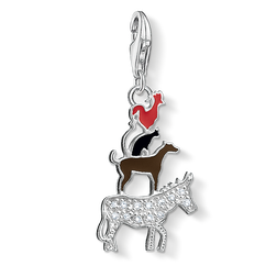 Charm pendant Bremen Town Musicians from the Charm Club Collection collection in the THOMAS SABO online store