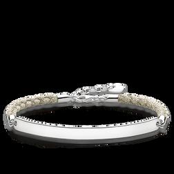 "bracelet ""beige Mokuba"" from the Love Bridge collection in the THOMAS SABO online store"