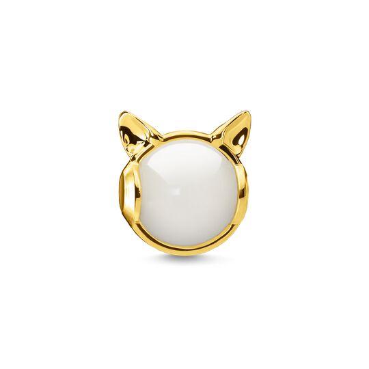 Bead Oreilles de chat or de la collection Karma Beads dans la boutique en ligne de THOMAS SABO