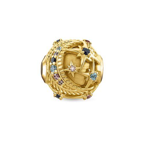 """Bead """"Royalty estralla dorada"""" de la colección Karma Beads en la tienda online de THOMAS SABO"""