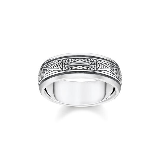 ring Ornaments, silver from the  collection in the THOMAS SABO online store