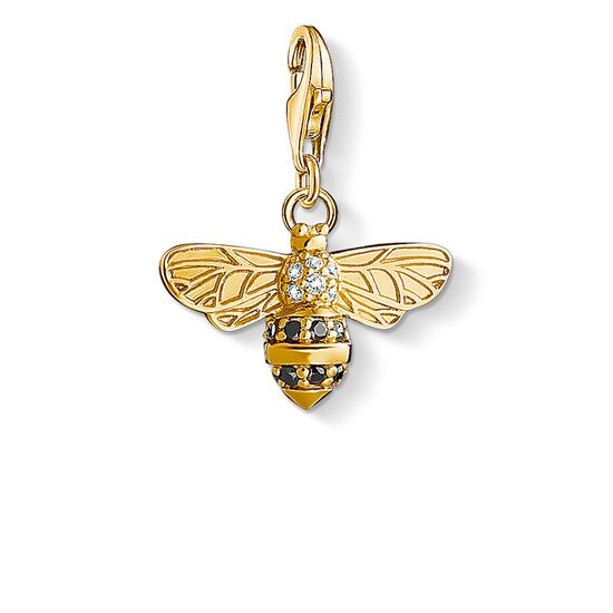 "Charm pendant ""bee"" from the  collection in the THOMAS SABO online store"