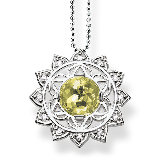 necklace heart chakra from the Chakras collection in the THOMAS SABO online store