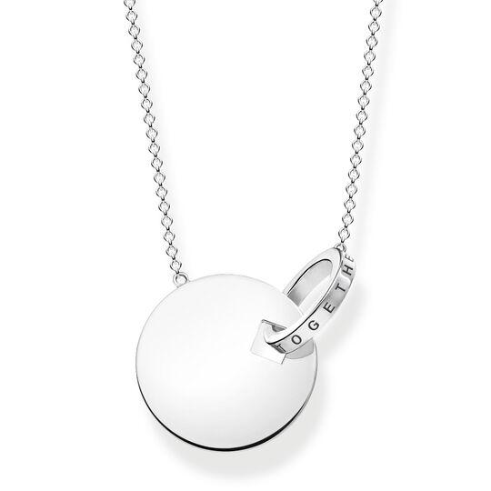 cadena moneda together grande con anilla plata de la colección  en la tienda online de THOMAS SABO