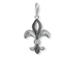 Charm pendant fleur-de-lis from the  collection in the THOMAS SABO online store