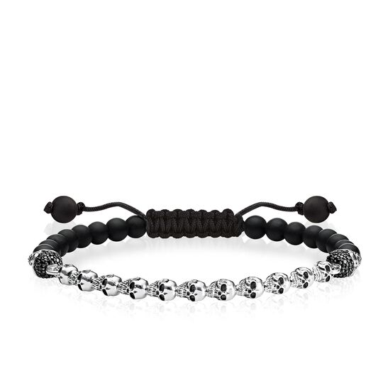bracelet têtes de mort de la collection Love Bridge dans la boutique en ligne de THOMAS SABO