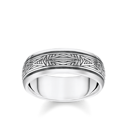 ring Ornaments, silver from the Rebel at heart collection in the THOMAS SABO online store