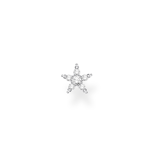 Single ear stud star silver from the Charming Collection collection in the THOMAS SABO online store