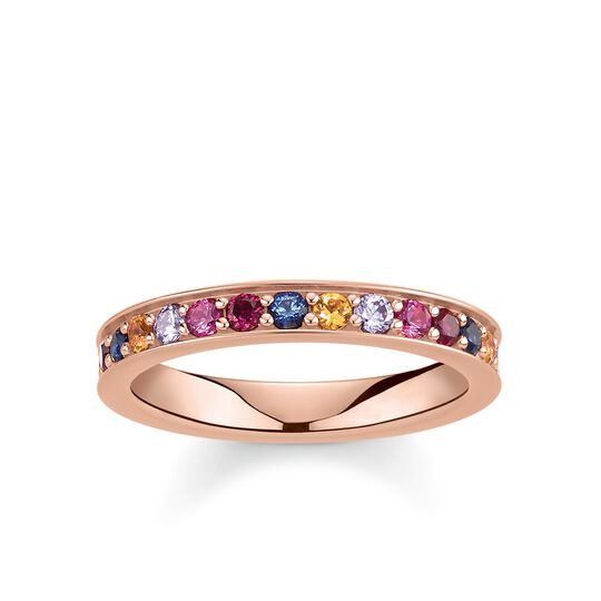 """ring """"Royalty Colourful Stones"""" from the Glam & Soul collection in the THOMAS SABO online store"""