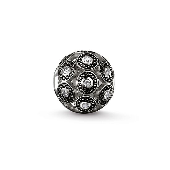 "Bead ""art déco black"" from the Karma Beads collection in the THOMAS SABO online store"
