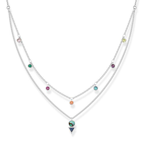 "collana ""pietre multicolor"" from the Glam & Soul collection in the THOMAS SABO online store"