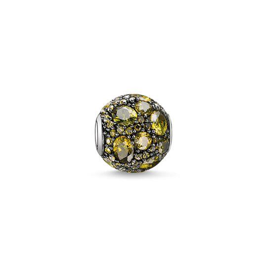 Bead Grüner Planet aus der Karma Beads Kollektion im Online Shop von THOMAS SABO