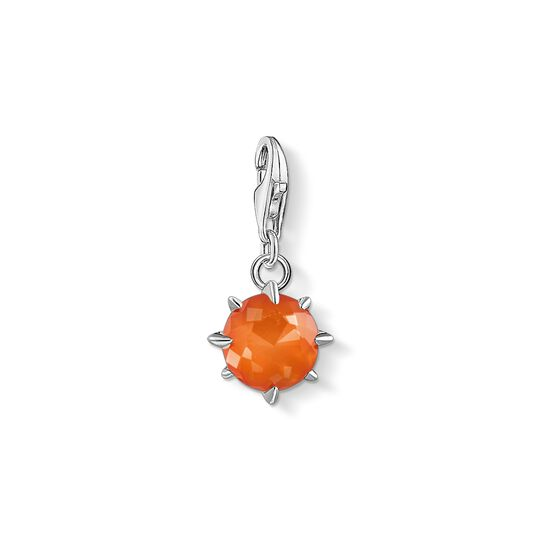 Charm pendant birth stone January from the Charm Club collection in the THOMAS SABO online store
