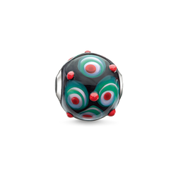 Bead Red, Black, Hot Pink, Green from the Karma Beads collection in the THOMAS SABO online store
