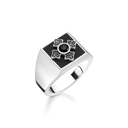 ring cross royalty from the Rebel at heart collection in the THOMAS SABO online store