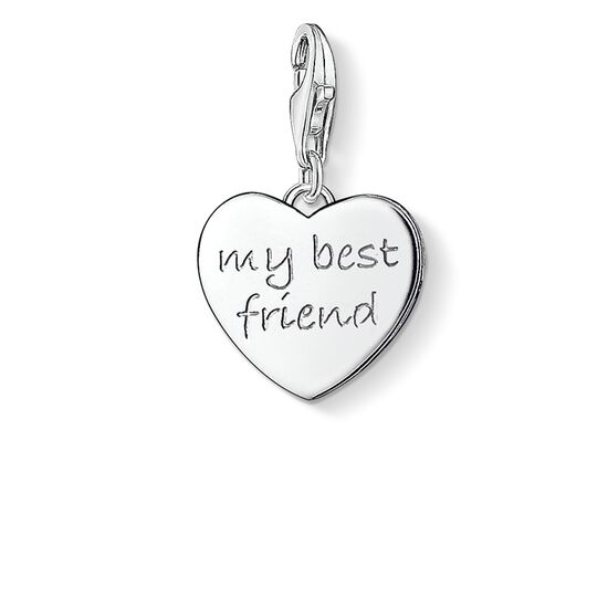 "Charm pendant ""MY BEST FRIEND"" from the  collection in the THOMAS SABO online store"