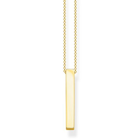 necklace Golden cuboid from the  collection in the THOMAS SABO online store