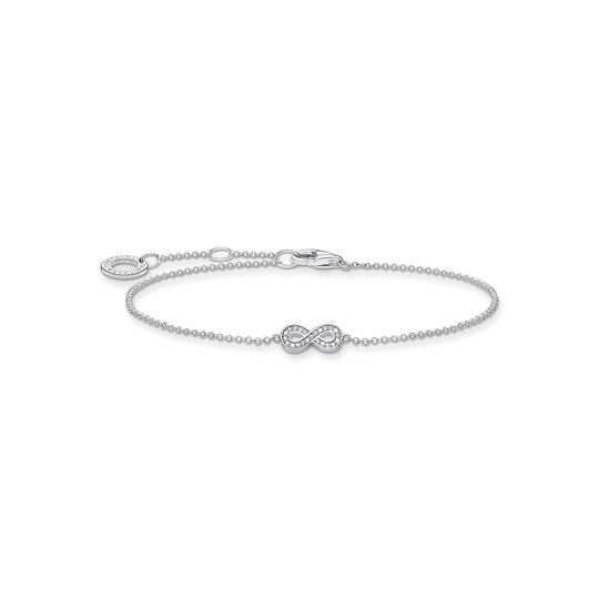 Bracelet infinity silver from the Charming Collection collection in the THOMAS SABO online store