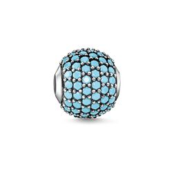 Bead pavé turquoise from the Glam & Soul collection in the THOMAS SABO online store