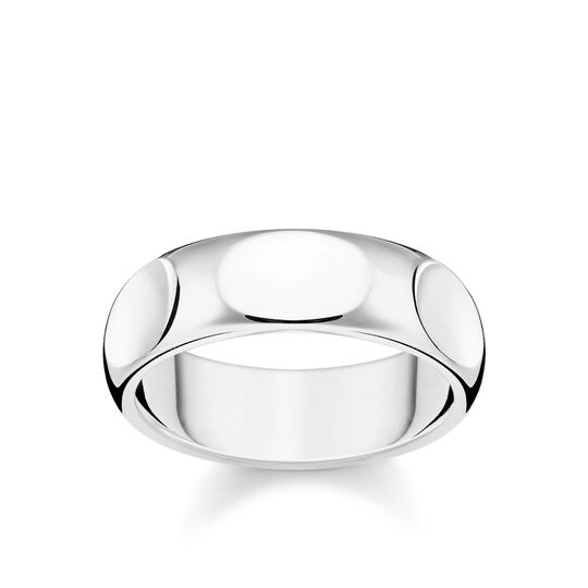 bague Épuré argent de la collection Rebel at heart dans la boutique en ligne de THOMAS SABO