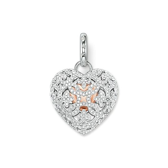pendant heart locket pavé from the  collection in the THOMAS SABO online store