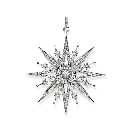 pendant royalty star silver from the  collection in the THOMAS SABO online store