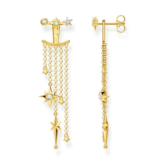 Earrings stars gold from the Glam & Soul collection in the THOMAS SABO online store