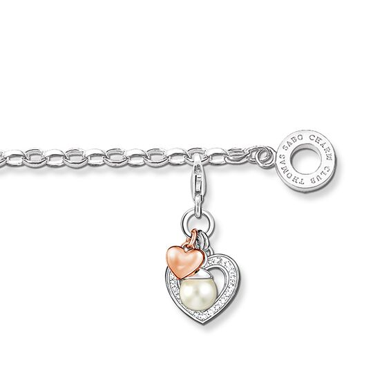 """Charm bracelet """"heart"""" from the  collection in the THOMAS SABO online store"""