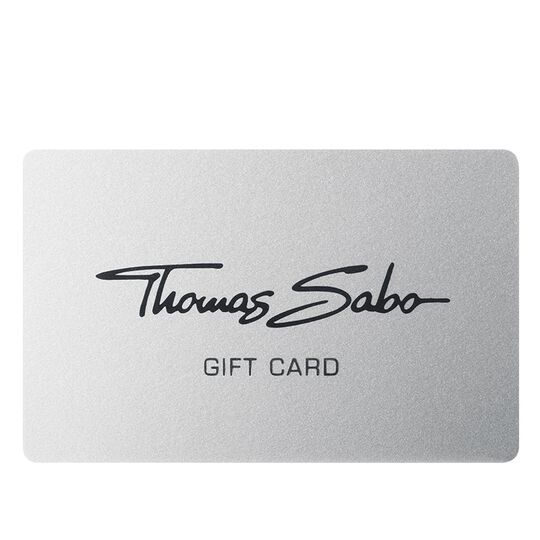 Giftcard from the  collection in the THOMAS SABO online store