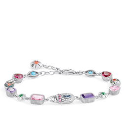 bracelet Large lucky charms, silver from the Glam & Soul collection in the THOMAS SABO online store