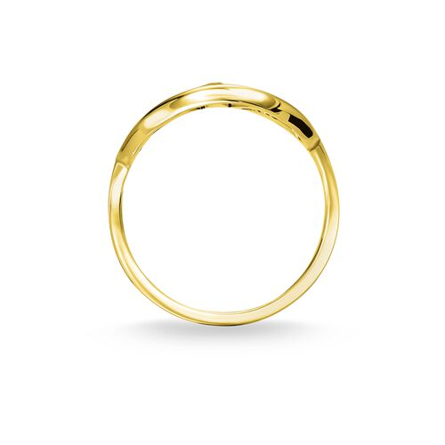 """ring """"Royalty Star gold"""" from the Glam & Soul collection in the THOMAS SABO online store"""