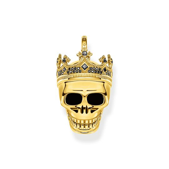 Bracelet skull King gold from the  collection in the THOMAS SABO online store